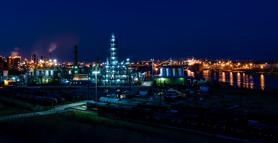 Port Arthur - Heavy oil refinery in Texas